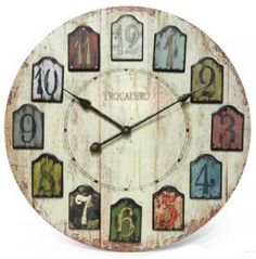 Add Timeless Charm to Your Place: Distressed Clock