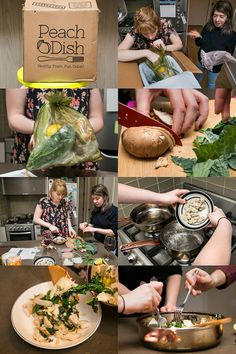 I spent 5 weeks eating meals planned for me by startups Peach Dish, Hello Fresh Box, Meal Planning, Delish, Yummy Food, Meals, Dishes, Delivery Food, Healthy