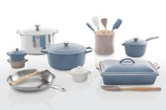 Le Creuset Launches New Matte Collection   The Kitchn Ah Jeez. I can't handle. Collection set to grow even more. @Andrea May