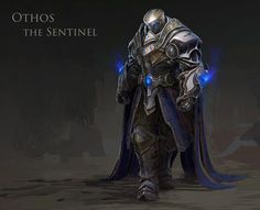 Othos the Sentinel by MuYoung Kim | Fantasy | 2D | CGSociety