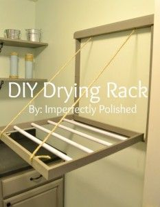 How to Build Your Own Drying Rack
