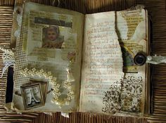 Journal pages by Pretty Arty via Flickr