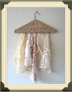 Lace Doily Collection...By:nocarnationshome