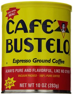 Cafe Bustelo Ground Coffee Can ** Check this awesome product by going to the link at the image.