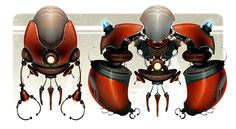 Ratchet and Clank by CreatureBox, via Behance