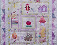Bedtime Stories Applique Pdf quilt pattern
