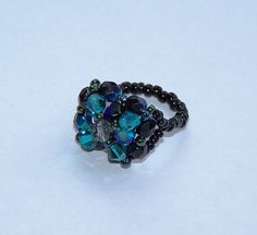 swarovski crystal ring