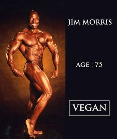 Jim Morris vegan bodybuilder This has nothing to do with dressing he is just fit for 75 yrs old this is amazing he looks really younger; Vegan Memes, Vegan Quotes, Vegan Humor, Famous Vegans, Why Vegan, Vegan Lifestyle, Going Vegan, Crossfit, Fitness Inspiration