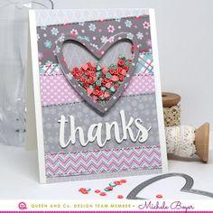 Thanks (Queen & Co. Heart Throb Kit)