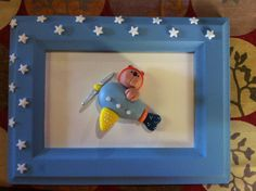 Porcelana fría cuadro avión - Lorena Belart