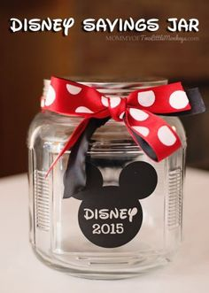 Tutorial - Disney savings jar idea - Silhouette Cameo Craft