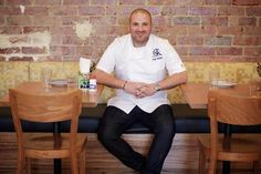 George Calombaris - Celebrity Chef Masterchef Australia, Celebrity Chef, Australian Food, Master Chef, Workwear, Knights, Wine Recipes, Chefs, Foodies