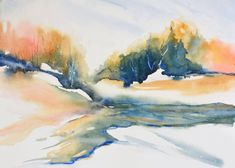 Image result for paintings of snow