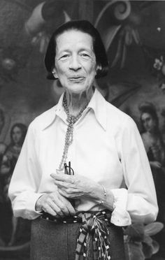 "Diana Vreeland was not a beautiful woman but she had a huge sense of style, and was one of the most influential fashion editors that ever lived, maybe bc she knew style was about life more than anything else — how you chose to live it. ""I'm not talking about a lot of clothes,"" she said."