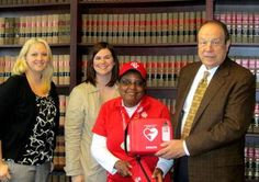 Milwaukee-based Hupy and Abraham, S.C., has donated an Automatic External Defibrillator (AED) device to Special Olympics of Wisconsin in memory of William Scherer, a former Special Olympian was was kept alive by an AED until hospital arrival.