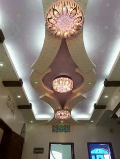 Amazing Tips Can Change Your Life: False Ceiling Bedroom Spices round false ceiling kid playroom.False Ceiling Lights Kids Rooms false ceiling with fan home.False Ceiling Architecture Home. Drawing Room Ceiling Design, House Ceiling Design, Ceiling Design Living Room, Bedroom False Ceiling Design, Beautiful Ceiling Designs, Gypsum Ceiling, False Ceiling Living Room, Plafond Design, Stair Decor