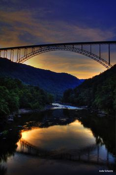 New River Gorge Bridge, West Virginia © Jodie Schwirtz  #WV #WestVirginia #NewRiverGorge #JodieSchwirtz