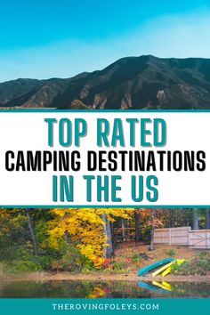 Want to know the top ranked campgrounds in America? We have compild a list of the best campsites to help your plan your RV travel destinations. We include Texas rv parks, rv campgrounds in Michigan, Utah, California, Florida and many more. Finding campgrounds to stay at can be the hardest part of RV travel, but this list will help you to easily plan your next camping vacation. #rvtraveldestinations #rvcampgrounds #usa Rv Travel, Travel Destinations, Texas Rv Parks, Best Places To Camp, Rv Campgrounds, Happy Campers, Campsite, Utah, Michigan