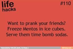 I am probably not going to be doing this. Ok, but it's a good prank! There is a part of me that wants to try this really bad!!