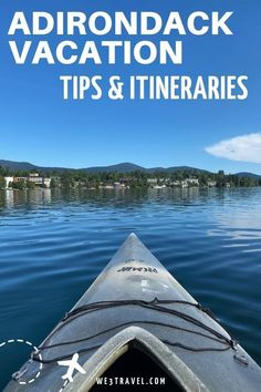 Planning a trip to the Adirondack Mountains? Check out our Adirondack tips and itineraries for Lake Placid, Saranac Lake, Lake George, and the rest of the Adirondack Park region in New York State. Adirondack Park, Adirondack Mountains, New York Travel, Travel Usa, Travel Tips, Lakeside Resort, Saranac Lake, Long Lake, Lake Champlain