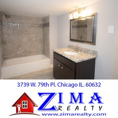 3739 W. 79th Pl. Chicago, IL. 60652 Gorgeous Bathrooms. Properties For-Sale in Chicago