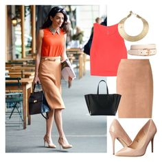 """""""Bussiness lady."""" by ro-mondryk on Polyvore featuring Alice + Olivia, Brunello Cucinelli, H&M, Madden Girl and Kelly Wearstler"""