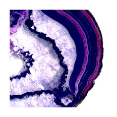 exposed geode Wall Art Prints by Baumbirdy | Minted