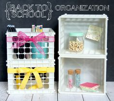 Back to School Organization -|Do More For Less - Featured on #HomeMattersParty 100
