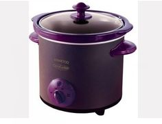 To supplement my ever-growing obsession with purple kitchen accessories .I need a slow cooker! Small Kitchen Appliances, Kitchen Items, Kitchen Gadgets, Kitchen Tools, All Things Purple, Purple Stuff, Purple Colors, Purple Kitchen Accessories, Purple Home