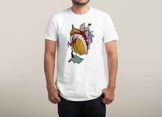 Check out the design Toast by Vo Maria available on Men's T-Shirt on Threadless Shirt Print Design, Shirt Designs, Vo Maria, Snoopy T Shirt, Willow Pattern, Printed Tees, Guys And Girls, Urban Fashion, Cool T Shirts