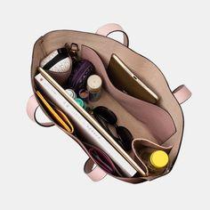 14 Inch Laptop Large Capacity Multi-pocket Removable Key Multifunctional Shoulder Bag Handbag Tote As low as $80.00 Trendy Handbags, Fashion Handbags, Tote Handbags, Waterproof Backpack, Multifunctional, Evening Bags, Mini Bag, Crossbody Bag, Laptop