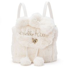 Elvina In Neverland ~ Alone But Never Lonely - Introvert & Proud Hello Kitty Backpacks, Hello Kitty Purse, Hello Kitty Items, Cute Mini Backpacks, Little Backpacks, Stylish Backpacks, Black Backpack, Backpack Bags, Kawaii Bags