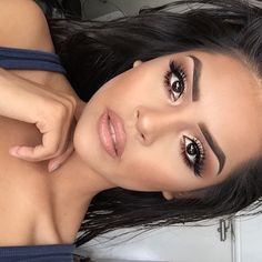 Beautiful look @iheart_sarahiiy  #Dipbrow in Chocolate on brows  #anastasiabrows #anastasiabeverlyhills by anastasiabeverlyhills http://ift.tt/1HAmRtw
