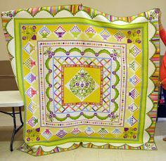 The month of May was a whirlwind of activities for me -- the local guild quilt show, out-of-town lectures and workshops, family events,new...