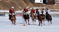 Snow Polo World Cup is a spectacular tournament, which takes place every year on the frozen lake of St. You may find more details in the post. World Cup, Saints, Frozen, Articles, Polo, Snow, Places, Polos, World Cup Fixtures