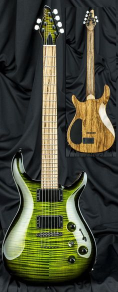Kiesel Guitars Custom Shop In Stock 24 Fret California Carved Top Guitar, Serial Number 69759 - made in the USA and ready to ship! Guitar Art, Music Guitar, Guitar Chords, Cool Guitar, Playing Guitar, Mundo Musical, Musica Disco, Rick E, Essayist