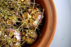 Baked Garlic with Thyme   Nourished Kitchen