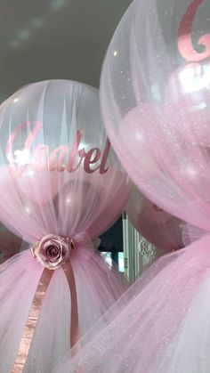Baptism Party Decorations, Princess Birthday Party Decorations, Baby Shower Decorations For Boys, Baby Shower Themes, Communion Decorations, Tulle Balloons, Party City Balloons, Birthday Balloons, Balloon Centerpieces