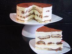 Tarta de tiramisu Sweet Desserts, No Bake Desserts, Dessert Recipes, Yummy Recipes, Cake Base Recipe, Yummy Treats, Yummy Food, Beautiful Desserts, Sweet Tarts
