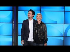 Lin-Manuel Miranda Busts Out Rhymes with Ellen - YouTube