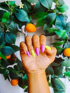 I love my neon nail manicure! #neonnails #nailart #summernails #FrenchManicureGelNails Neon Nail Art, Neon Nails, August Nails, French Manicure Gel Nails, Bright Red Nails, Red Nail Polish, Types Of Nails, Nail Trends, Nails Inspiration