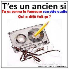 Cassette, Childhood, Lol, Messages, Memories, Type 3, French, Vintage, Facebook