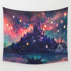 Buy The Lights by Alice X. Zhang as a high quality Wall Tapestry. Worldwide shipping available at Society6.com. Just one of millions of products available.