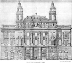 Design for the Ministry of Finance, Budapest