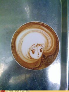 Beautiful coffee art