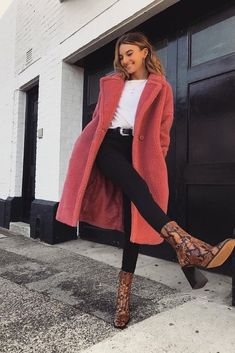 Trendy Winter Outfits You Will Love. Women's Design. winter casual Trendy Winter Outfits You Will Love Winter Outfits For Teen Girls, Simple Winter Outfits, Winter Outfits Women, Winter Fashion Outfits, Look Fashion, Autumn Winter Fashion, Spring Outfits, Winter Fashion Street Style, Winter Outfits 2019