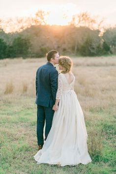 Beautiful portrait of the bride and groom by Lori Blythe Photography