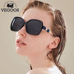a9b57900812 VEGOOS Brand Designer Oversize Oval Polarized Sunglasses women Sun Glasses  Polaroid Fashion Big Frame  9088