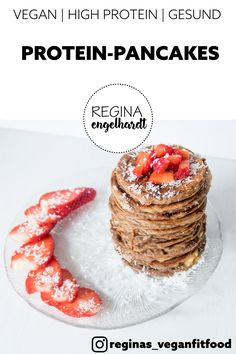 Smart Eating: Fuel for Fitness - Tricks of healthy life Healthy Protein Pancakes, Best Vegan Protein, Superfood, Vegan Recipes, Clean Eating, Low Carb, Snacks, Breakfast, Foodblogger