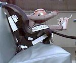 Looking at this picture, how could you choose this for your baby. If a child is RF in a crash they are protected from this. Period.
